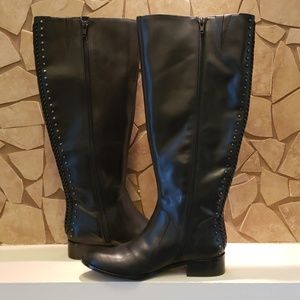 Antonio Melani (WIDE CALF) Riding Boots NWOT